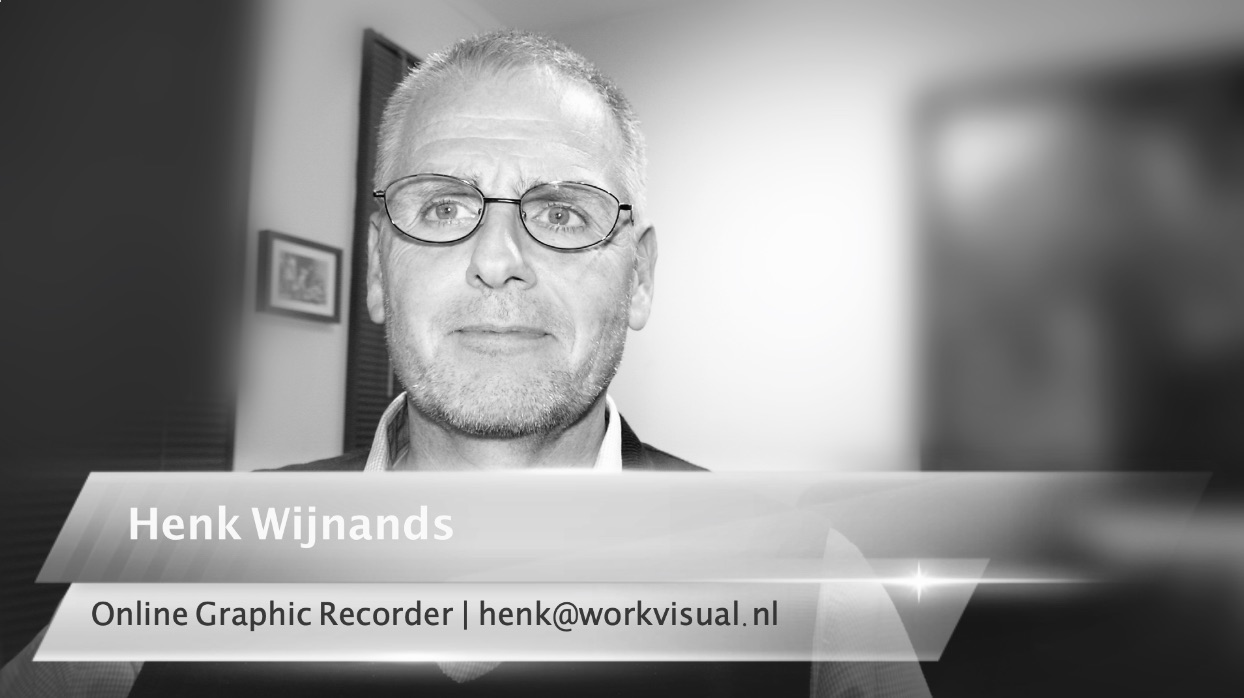Profile picture Online Graphic Recorder Henk Wijnands